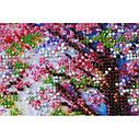 """Набор-миди для вышивки бисером на натуральном художественном холсте """"Мостик в весну"""", фото 3"""
