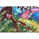 """Набор-миди для вышивки бисером на натуральном художественном холсте """"Мостик в весну"""", фото 4"""