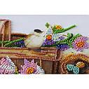 """Набор-миди для вышивки бисером на натуральном художественном холсте """"Ранние цветочки"""", фото 3"""