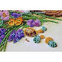 """Набор-миди для вышивки бисером на натуральном художественном холсте """"Ранние цветочки"""", фото 5"""