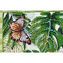 """Набор-миди для вышивки бисером на натуральном художественном холсте """"Монстера"""", фото 2"""