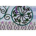 """Набор-миди для вышивки бисером на натуральном художественном холсте """"Романтический сад"""", фото 5"""