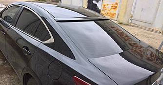 Спойлер бленда козырек на стекло Mazda 6 GJ (2012+) широкая
