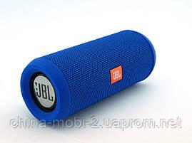 JBL Flip 3 10W копия, портативная колонка с Bluetooth FM и MP3, синяя, фото 3