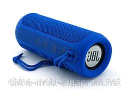 JBL Flip 3 10W копия, портативная колонка с Bluetooth FM и MP3, синяя, фото 2