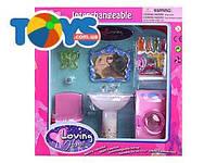 Мебель для ванной комнаты игрушечная, 2909