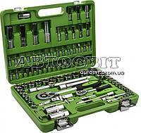 """Набор инструментов Alloid 1/2"""" и 1/4"""" 108 предметов 6 гран. НГ-4108П-6"""