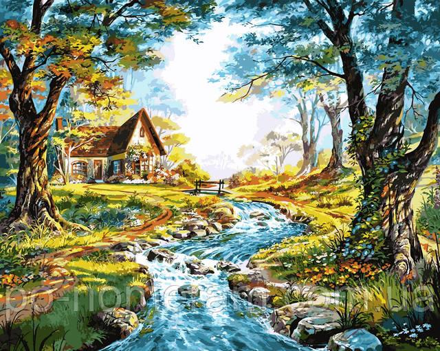 картины по номерам река