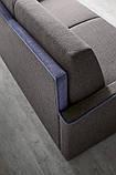 Раскладной диван HUGÒ матрас 160 см фабрика Felis (Италия), фото 4