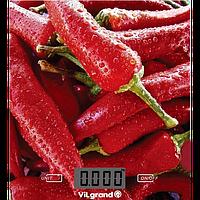 Ваги кухонні електронні 5 кг (без чаши) Перец ViLgrand VKS-525_Pepper