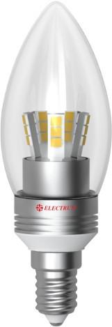 Electrum LC-30 5W E14 4000K алюм. корп.