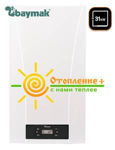 Двухконтурный турбированный газовый котел Iora BAYMAK 31кВт + Коаксиальний дымоход  (Традиционный)