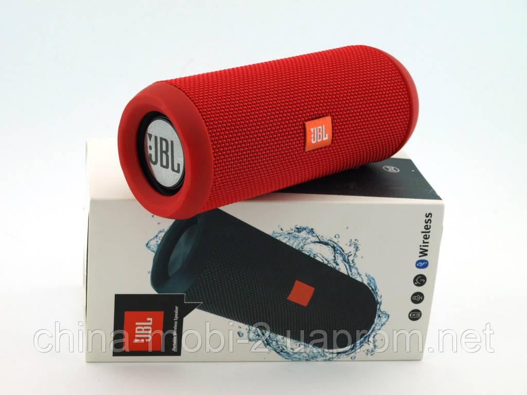 JBL Flip 3 10W копия, портативная колонка с Bluetooth FM и MP3, красная