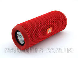 JBL Flip 3 10W копия, портативная колонка с Bluetooth FM и MP3, красная, фото 3