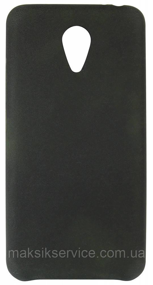 Чехол накладка на Meizu M3 черный