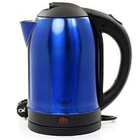 Чайник електричний нерж. (2,0 л; 2 кВт) Defiant DEK2000-208S_Blue