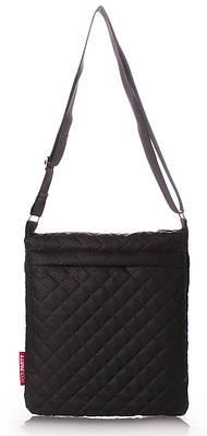 Женская сумка-планшет POOLPARTY pool-59-eco-black черная — только ... e0f67bd157d8e