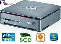 "ПК Fujitsu Esprimo Q520 USFF s1150 (i5-4590T/8GB/1TB 2.5""/NoDVD)(2xSD DDR3/DVI/D-Port) б/у"