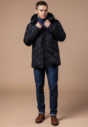 Braggart Dress Code 12481 | Куртка зимняя фирменная мужская черная, фото 2