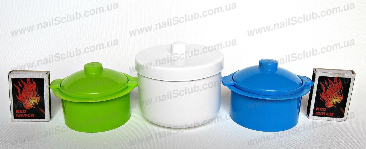 Для дезінфекції контейнер малий Білий круглий купити