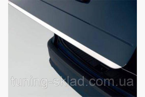 Хром кромка багажника  Mitsubishi Outlander 2008-2013  (Митсубиси Оутлендер)