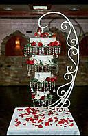 Металическая конструкция для подвесного перевёрнутого торта Торт-Люстра (Аренда)