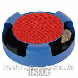Игрушка для кошки Мышка в ловушке, диаметр 25см, Trixie 41411