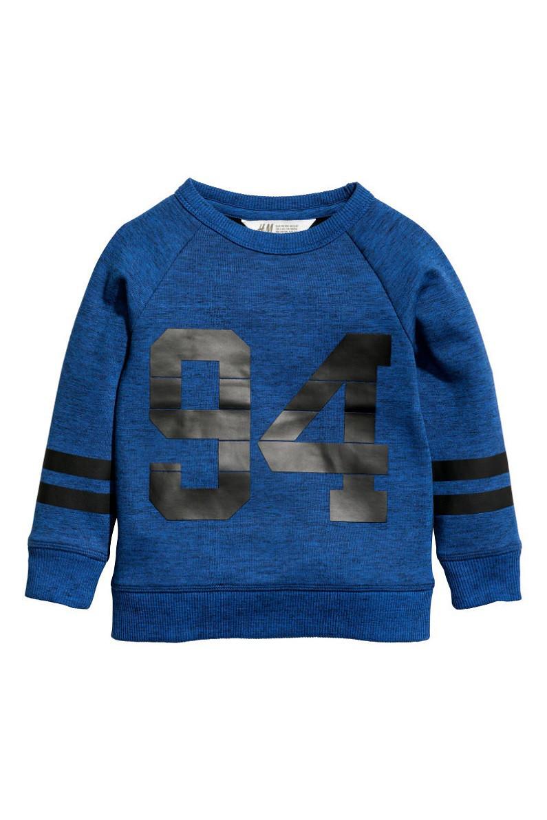 Свитшот H&M Sweatshirt with Motif 4-6 лет