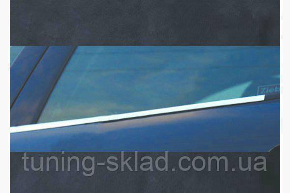 Хром окантовка стекол  Mitsubishi Pajero Wagon IV  (Митсубиси Паджеро)
