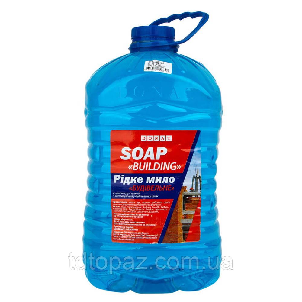 Жидкое мыло Строительное Dоnat 5л