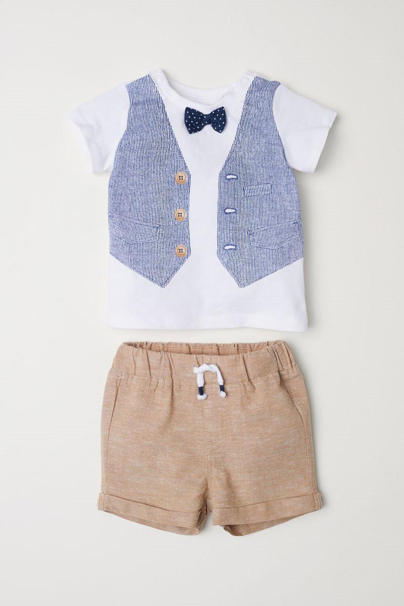 Комплект HM футболка и шортики