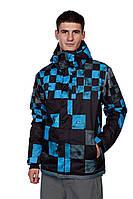 Сноубордическая куртка Quiksilver Next Mission Printed Ins Jkt 8K Dna Snow Smoke ( Оригинал )