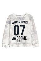 Свитшот H&M Sweatshirt with Printed Motif