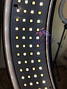 Кольцевая бьюти лампа RL-18 Мультисвет Премиум LED Pro Beauty Light 96ВТ 48СМ, фото 5