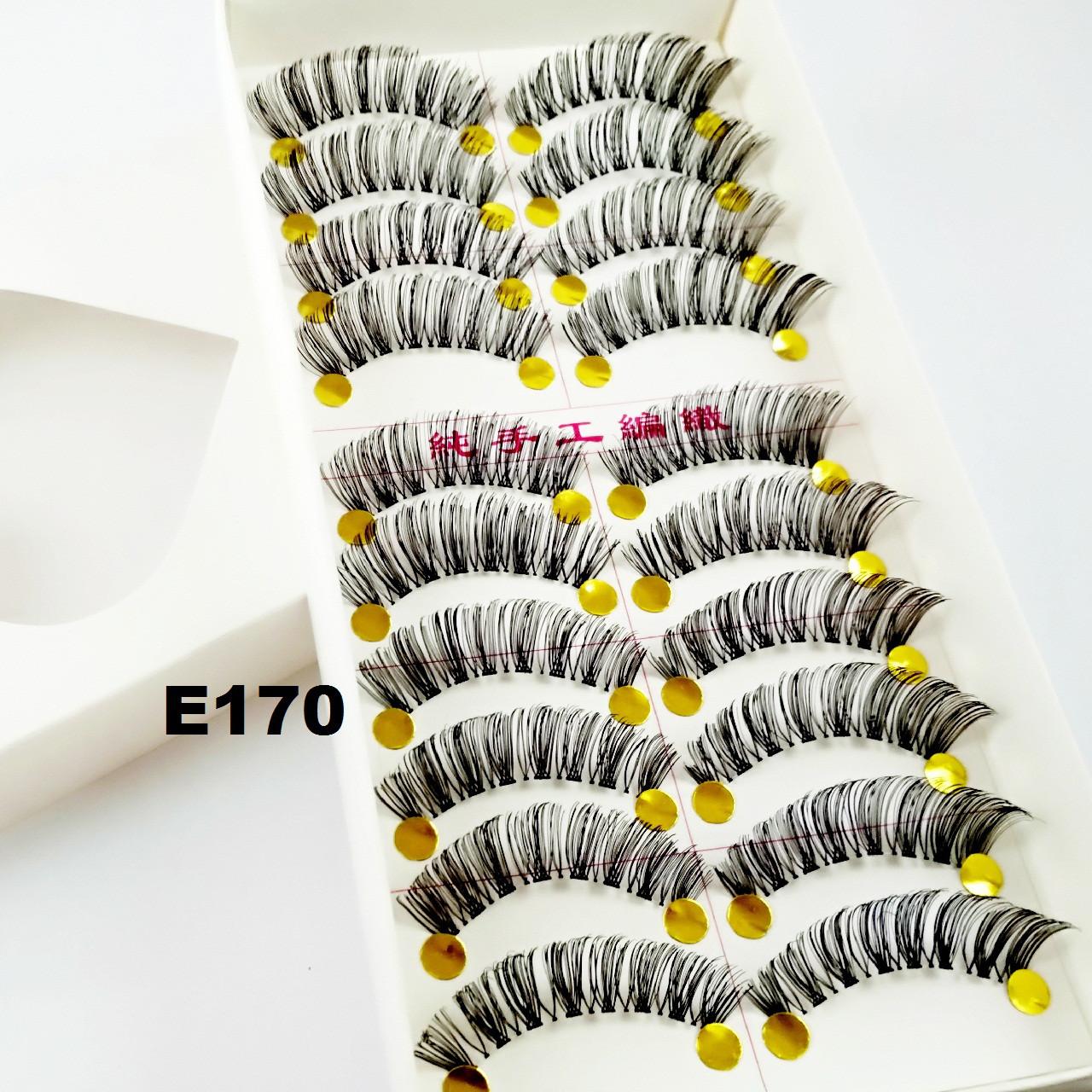 Вечерние накладные ресницы по 10 пар (16 видов)