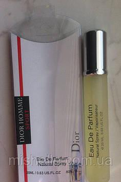 Мини парфюм Christian Dior Dior Homme Sport 20 ml в ручке (реплика)