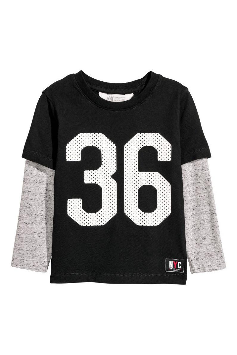 Лонгслив H&M T-shirt with long sleeves 4-6 лет