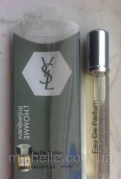 Мини парфюм Yves Saint Laurent l homme 20 ml в ручке (реплика)