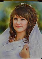 Нарисую портрет по фото на заказ Харьков Украина