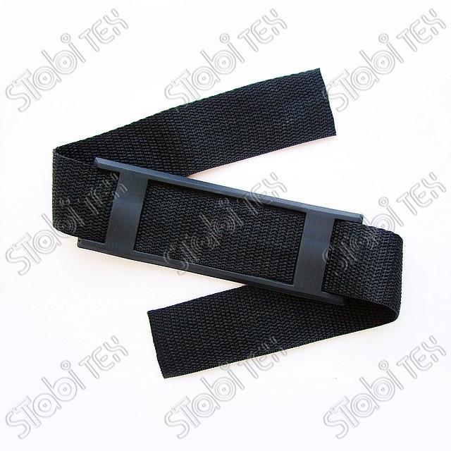 Лента ременная (стропа) 38мм чёрная(100м)