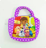 Мини-сумочка детская «Любимые герои» - 5 видов SUMOCHKA 3 Доктор Плюшева