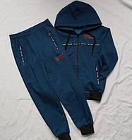 Детский спортивный костюм весна-осень Tommy 7-12 лет на манжете с капюшоном оптом