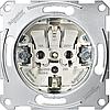 MTN2300-0000 Merten Механізм розетки з з/к 16А 250В