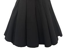 Школьный сарафан для девочек с черными жемчужинами, фото 2