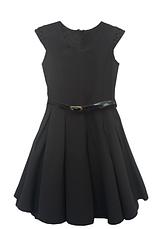 Школьный сарафан для девочек с черными жемчужинами, фото 3