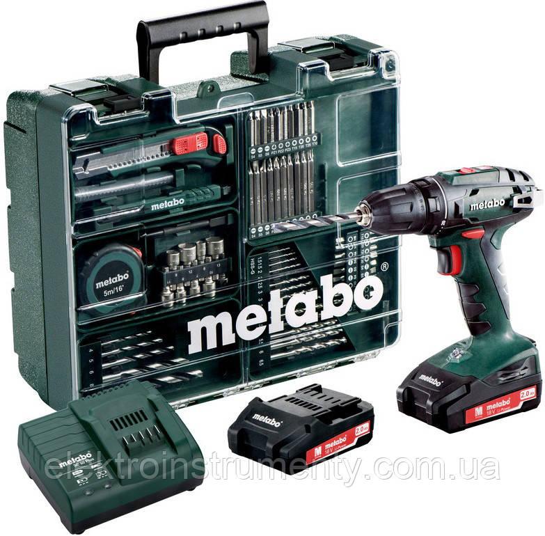 Купить Шуруповерт Metabo BS 18 Set (602207880)