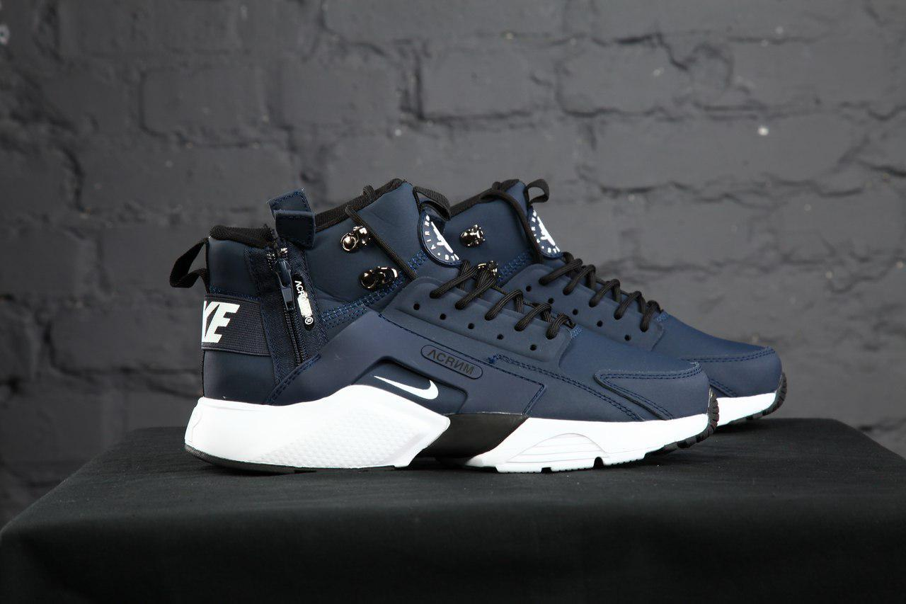 694a8057 Кроссовки мужские в стиле Nike Huarache x ACRONYM код товара KD,11386.