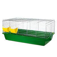 Переносная клетка для кроликов InterZoo Rabbit 100 Zinc G080 (1000*540*415мм)