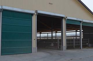 Ворота для животноводческих комплексов