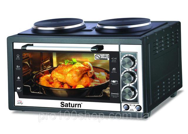 Электрическая печь Saturn ST-EC10711 Black